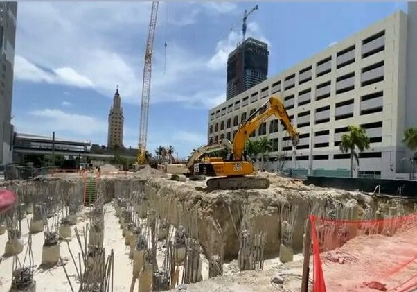 Foundation At 51-Story Natiivo Near Completion After Developer Modifies Utilities Deal